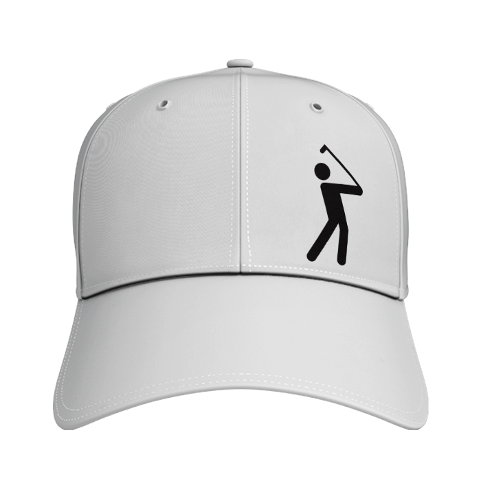 Performance golf cap