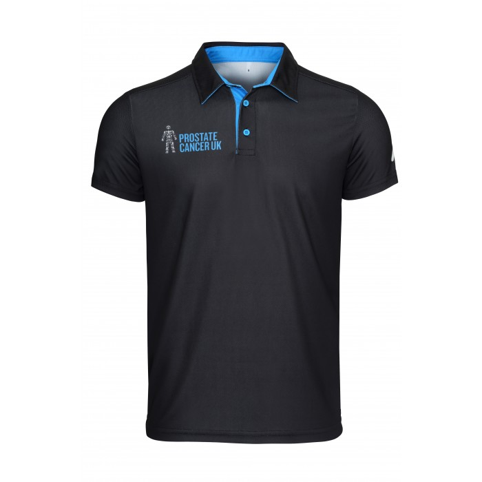 Golf polo shirt  (Black)