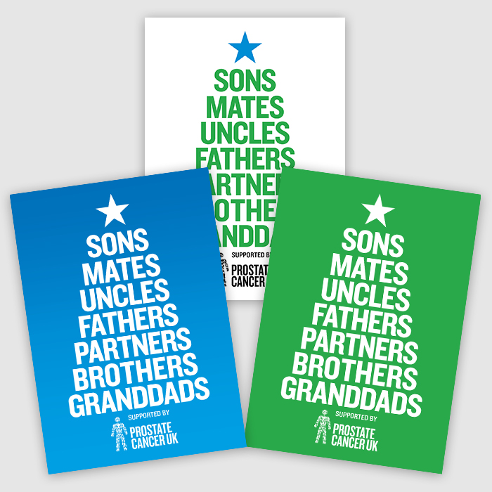 NEW 'Tree of Men' Christmas cards (Pack of 12)