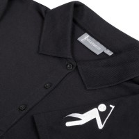 Women's Golf Polo Shirt (Black)