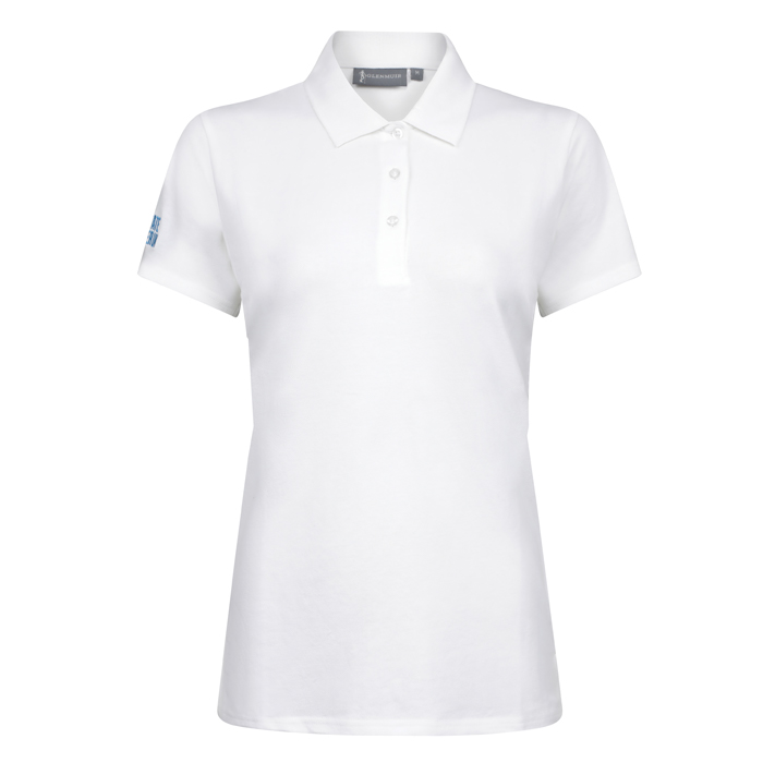 Women's Golf Polo Shirt (White)