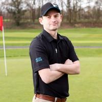 Men's Golf Polo Shirt (Black)