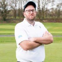 Men's Polo Golf Shirt (White)