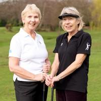 Women's Golf Polo Shirt (Black)