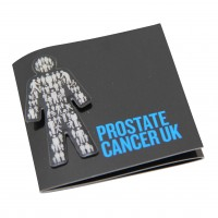 Prostate Cancer UK pin badge