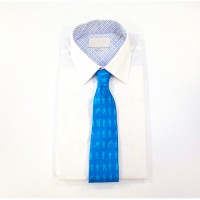 Man of Men tie in blue