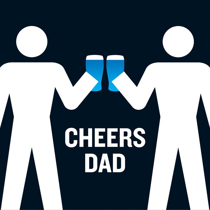 Cheers Dad! eCard