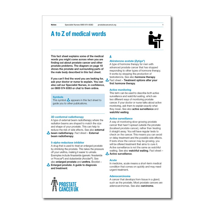A-Z Medical words