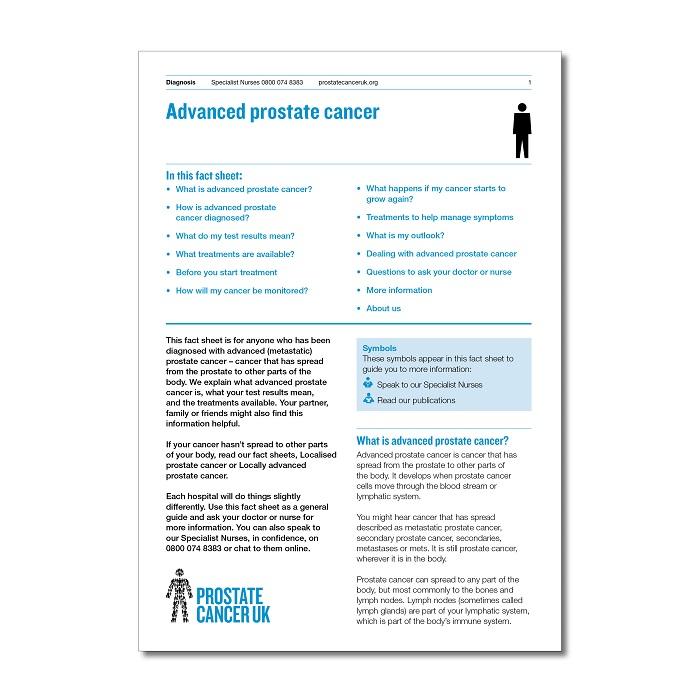 Advanced prostate cancer