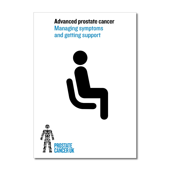 Advanced prostate cancer: Managing symptoms and getting support