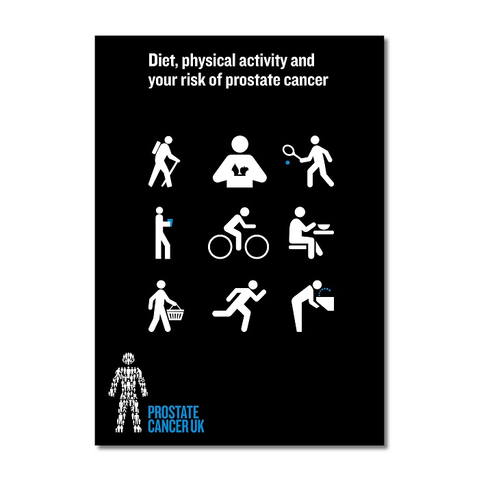 Diet, physical activity and your risk of prostate cancer