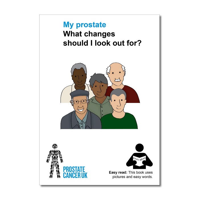 Easy read: My prostate