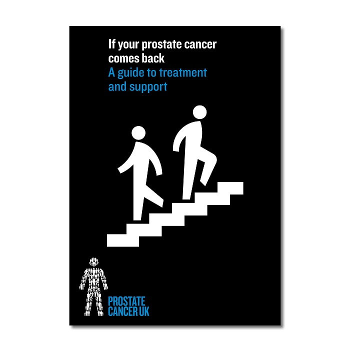 If your prostate cancer comes back: A guide to treatment and support